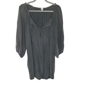 Joie Silk Loose Fit Shirt Dress, Size Small